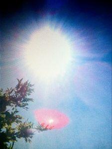 Solar eclipse - Bobbys abstact art