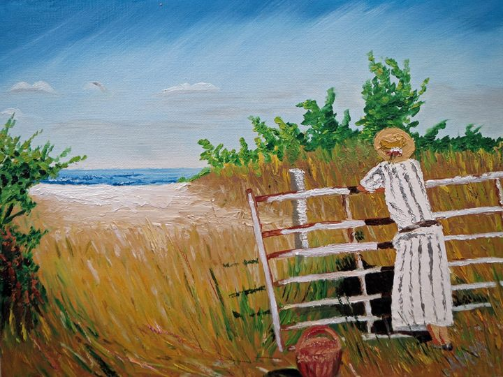 Gazing to the Ocean - Abey Gallery