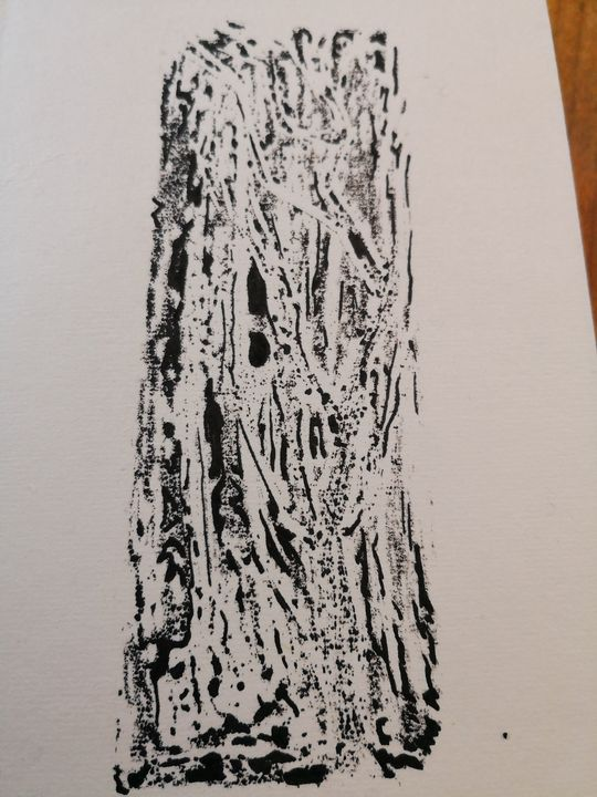 ink print 1 trees - MB71
