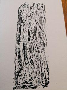 ink print 1 trees