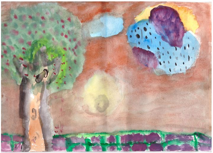 Child's Painting -  Sangcuthi