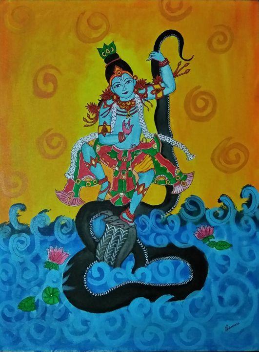Krishna on Kalinga - Sahana A Gorur