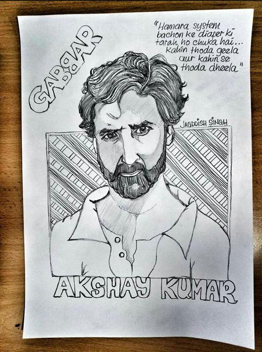 Akshay Kumar - Jagddish Singh Art