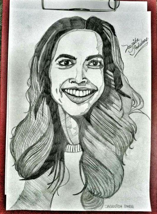 Deepika Padukore - Jagddish Singh Art