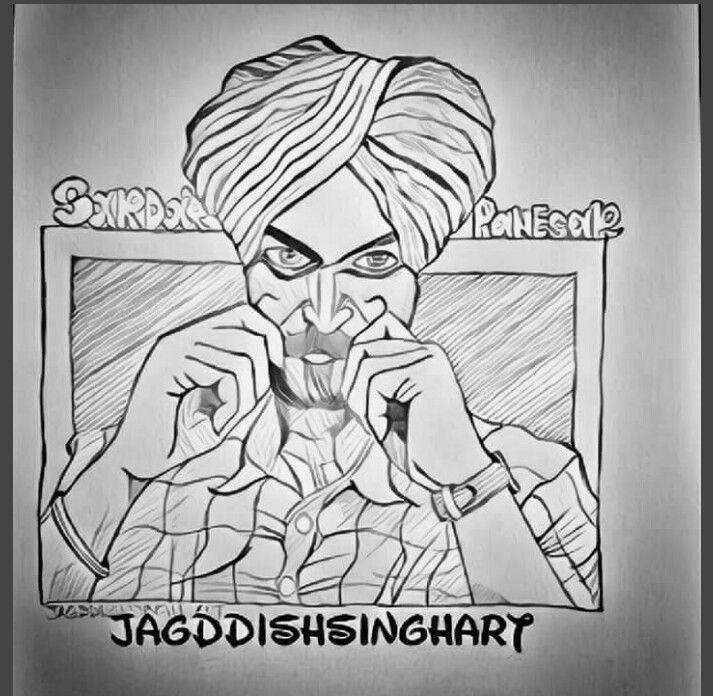 Sardar Panesar II - Jagddish Singh Art