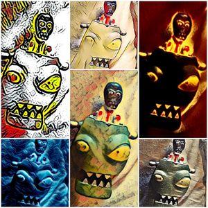 Halloween Devils - Brenda Winters
