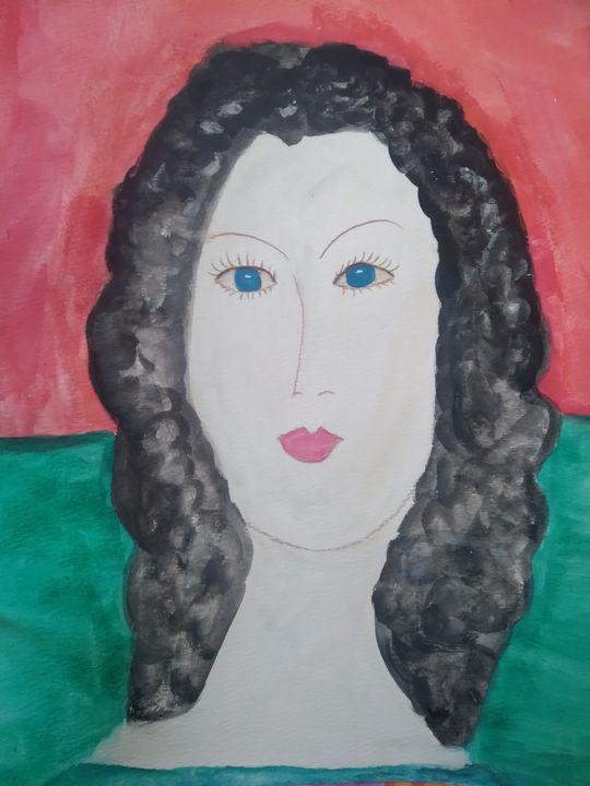 After Modigliani - Brenda Winters