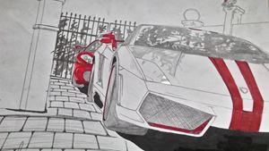 Lambo and Ferrari