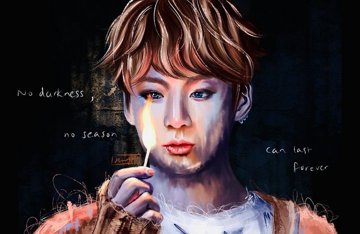 Spring Day (Dark Ver) - Hwona Art