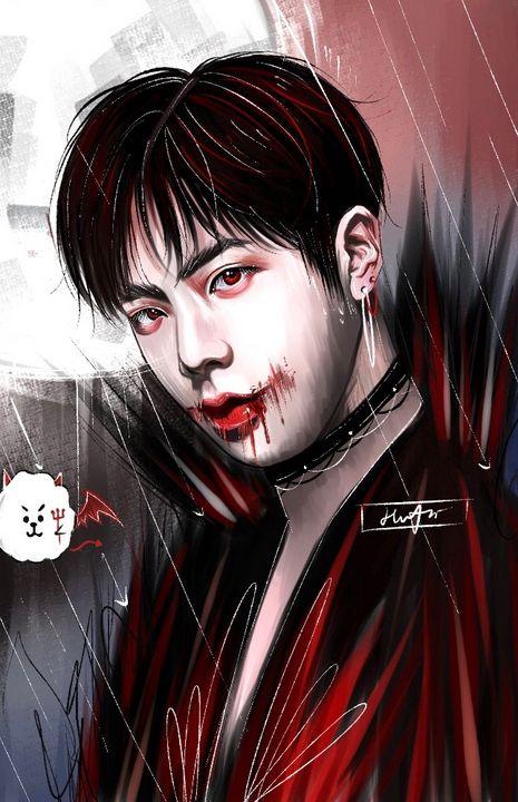 Dracula's Kiss - Hwona Art