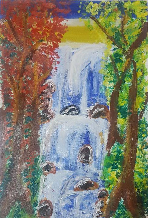 WATER FALLS - Art by Habi