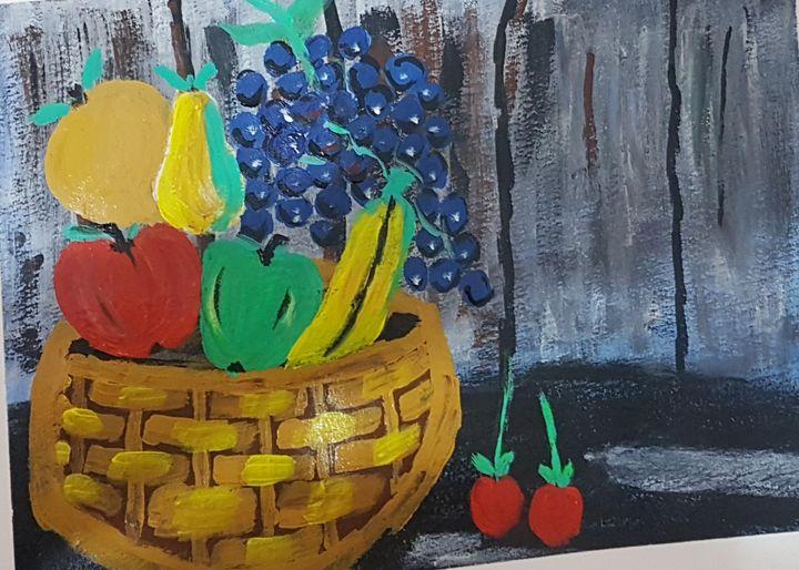 Fruits basket - Art by Habi