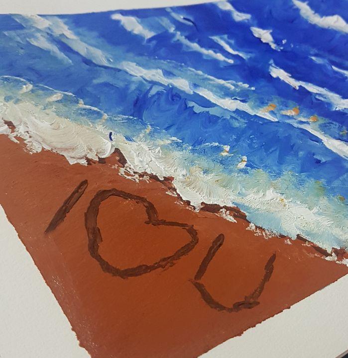 Beach - Art by Habi