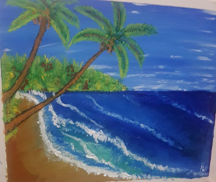 indian ocean - Art by Habi
