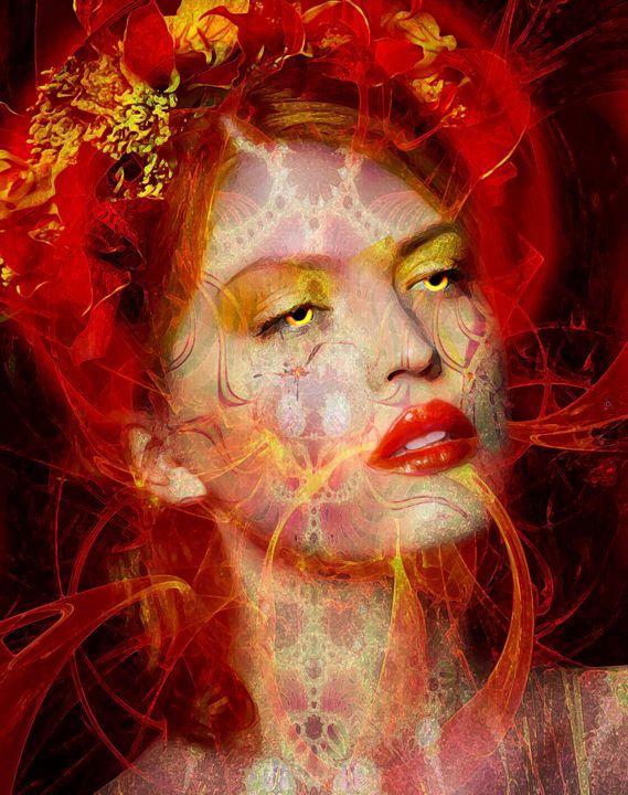 Fire queen - The Dark Backward