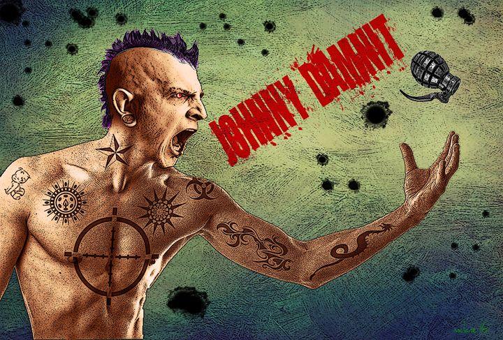 Johnny Damnit - The Dark Backward