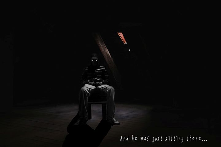 and he was just sitting there... - The Dark Backward