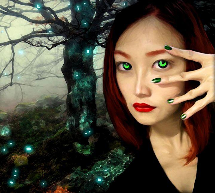 behind green eyes - The Dark Backward