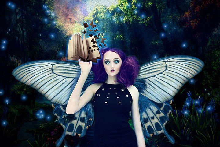 Book of wings - The Dark Backward