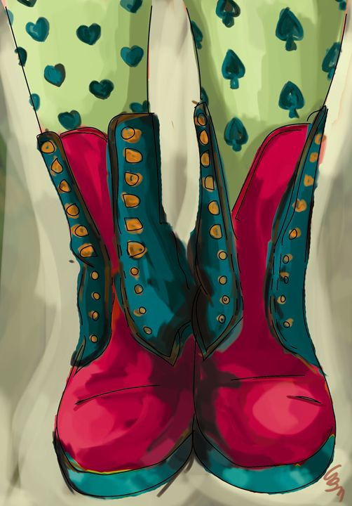 Those LSD Shoes - LittleFeet