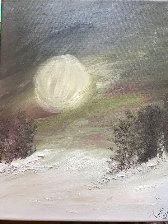 Winter nights - Deborahmillsopen door