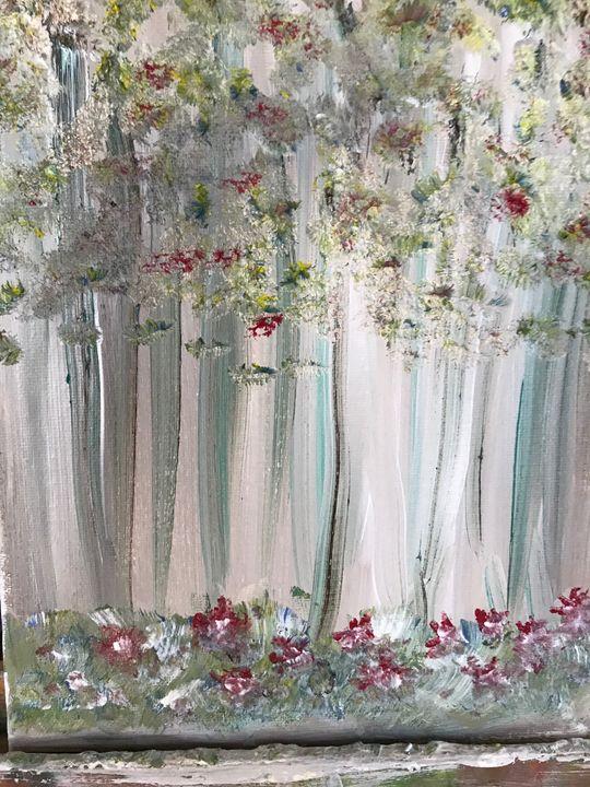 light of the woods - Deborahmillsopen door