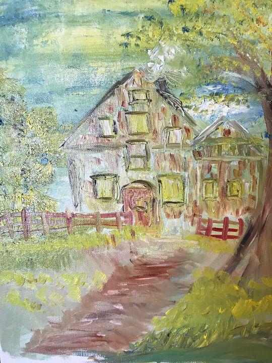 the House - Deborahmillsopen door