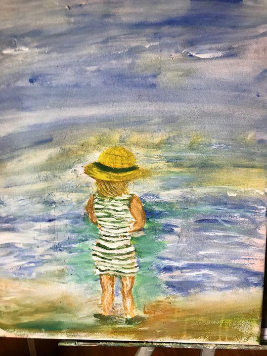 on the horizon - Deborahmillsopen door