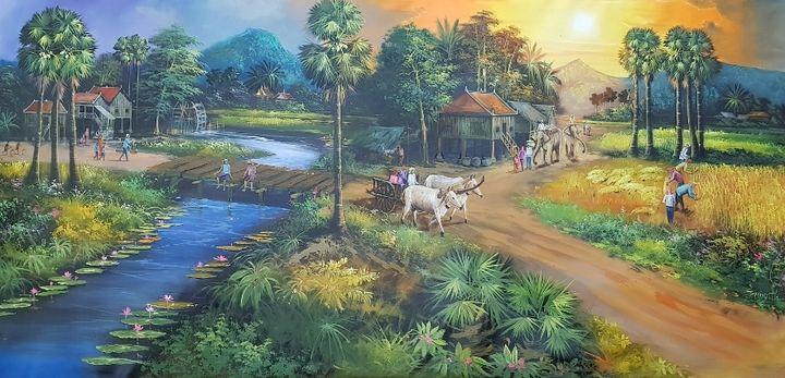 Cambodia - Riverview Gallery