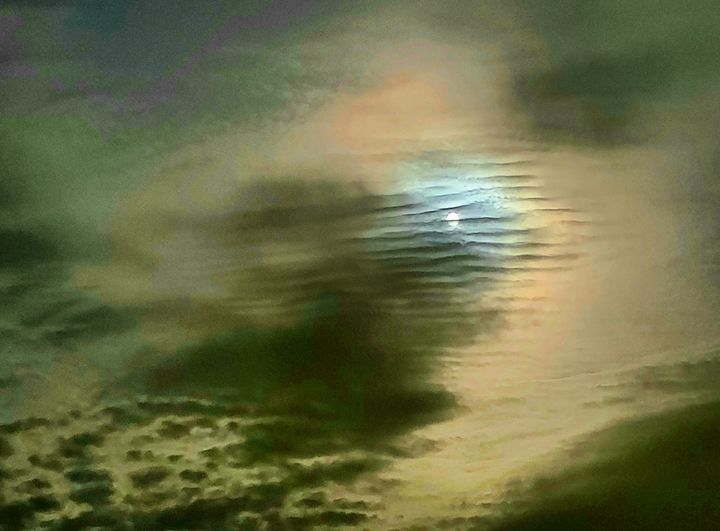 Moon and Stratus Clouds - 2020 - The Adhizen