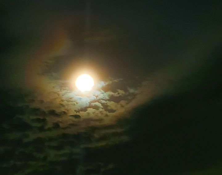 Full Moon and Clouds - 2020 - The Adhizen