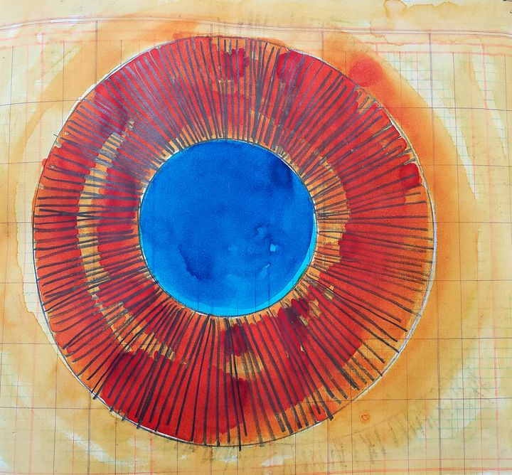 Study Radiance Red and Blue 20210002 - The Adhizen