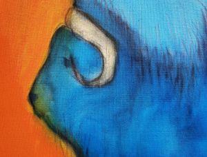 Blue Musk Ox