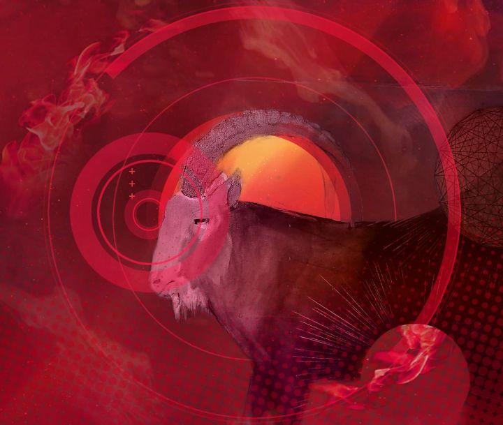 Elemental Goats- Fire - The Adhizen