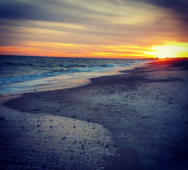 Sunset Moonstone Beach - The Adhizen