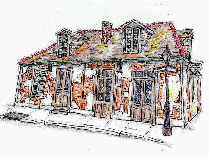 Lafitte's Blacksmith Shop - Cain Clement
