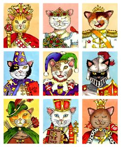 Cats of the Royal Court