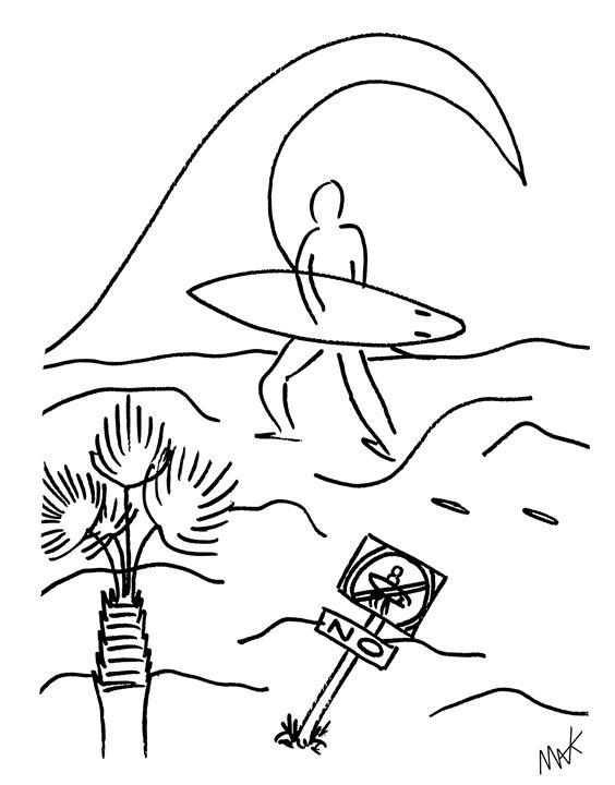 Surf No Surf - MAK