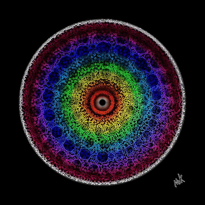 Eye of the Cosmic Storm - MAK