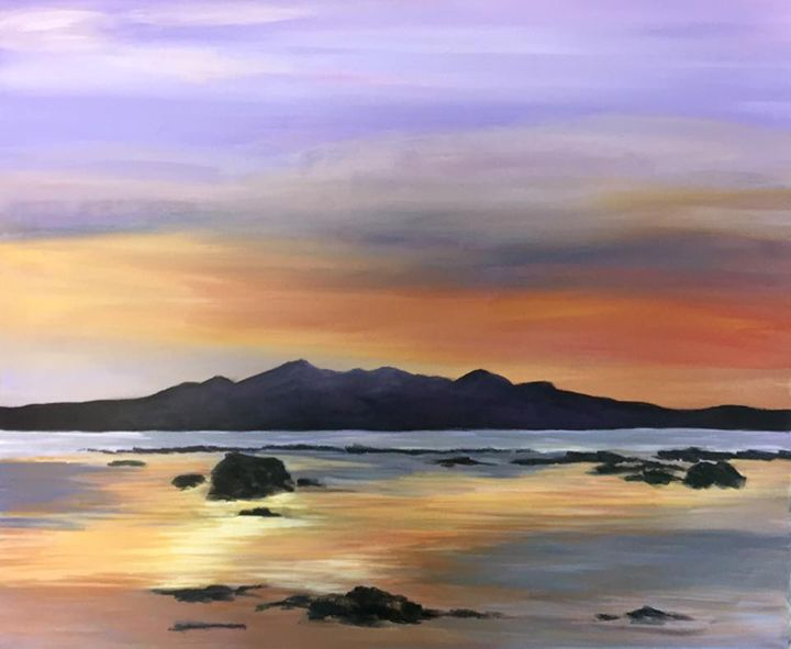 Isle of Arran From Seamill - Carol-Anne Lennon