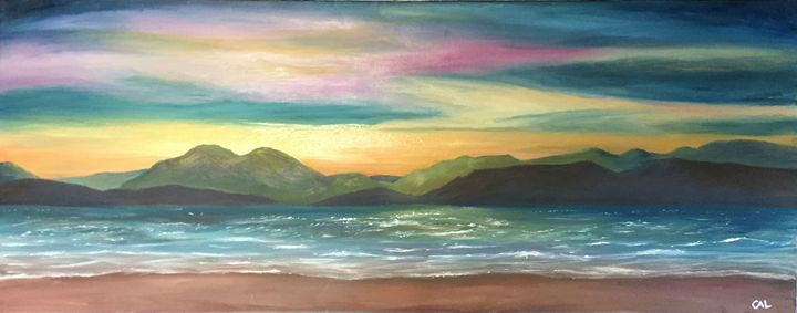 Isle of Skye From Sand Bay - Carol-Anne Lennon