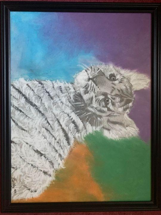 A Tiger's Beauty - Ayanna the Artist