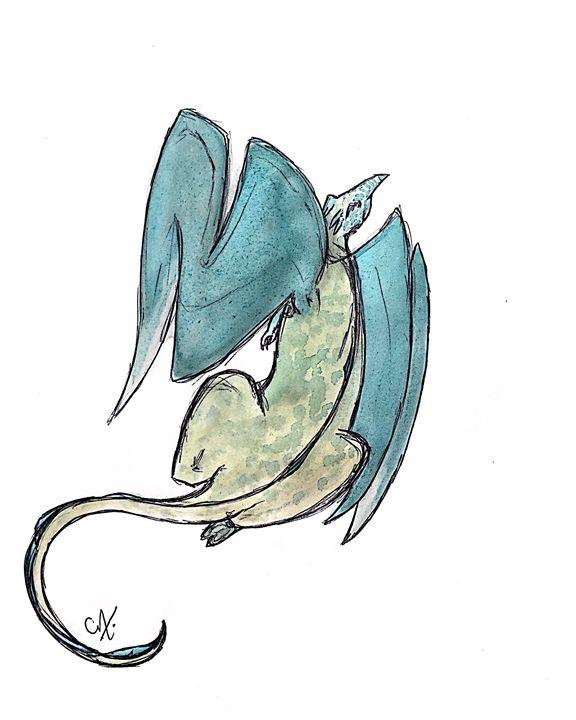 Sky Flyer - Dragon Blue