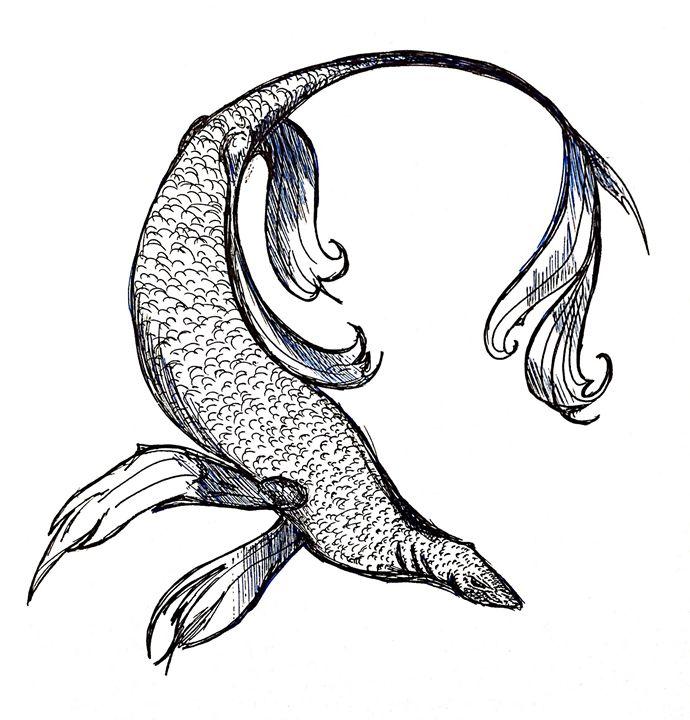Deep Diver - Dragon Blue