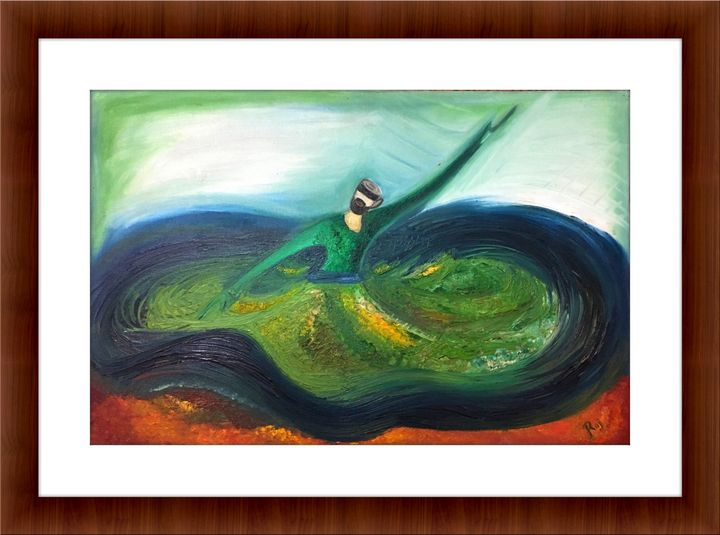 Sufi - The Dance with Universe - ArtFromHeart