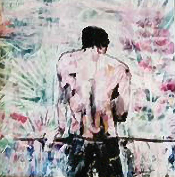 man back study; jungle fever collect - El nino  galleria D'arte