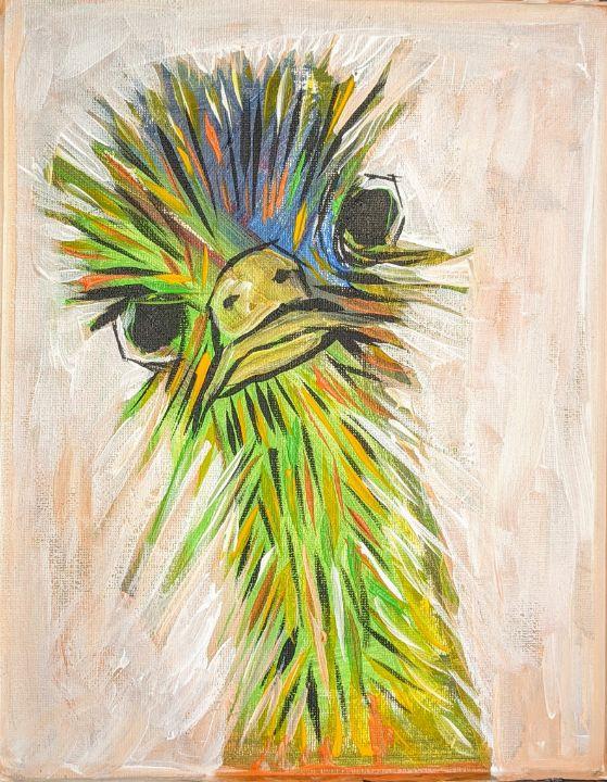 Ostrich - SOLD - Ron Kammer