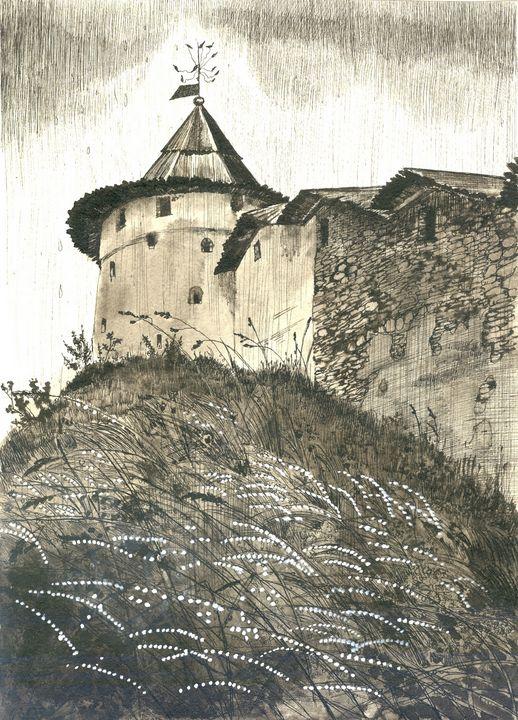 Pskov tower - AlexandraDvina