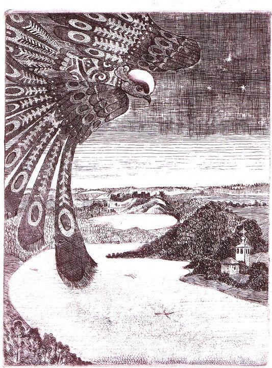 A wise bird - AlexandraDvina