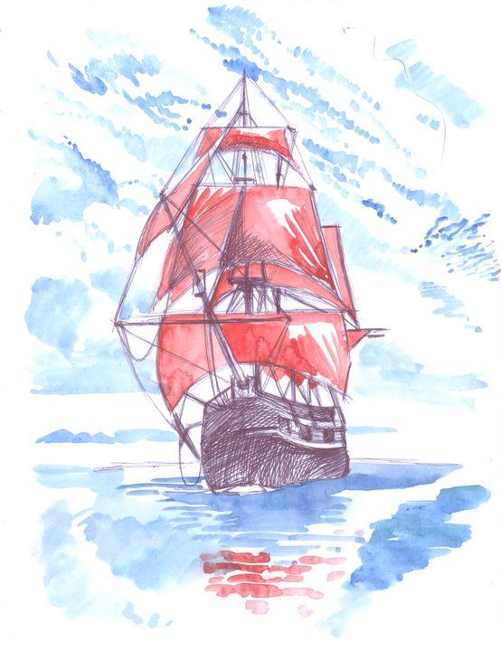 Scarlet Sails - AlexandraDvina